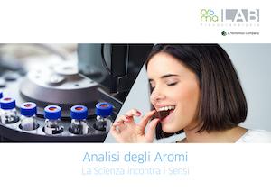 Flyer aromaLab Flavoranalysis ITA