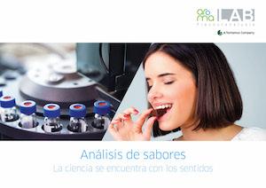 Flyer aromaLab Flavoranalysis ESP